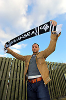 Pictured: New signing for Swansea City Football Club, striker Shefki Kuqi during a brief photo call at the Glamorgan Club near Swansea south Wales. Monday 25 January 2010