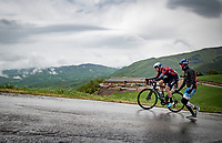 runner-up Alessandro De Marchi (ITA/Israel Start-Up Nation) up the Colle Passerino (3km from the finish)<br /> <br /> 104th Giro d'Italia 2021 (2.UWT)<br /> Stage 4 from Piacenza to Sestola (187km)<br /> <br /> ©kramon