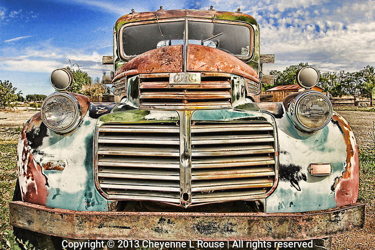 Amazing GMC Truck - New Mexico