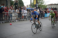 Mikel Nieve (ESP/SKY) in the final local laps around Torino<br /> <br /> stage 21: Cuneo - Torino 163km<br /> 99th Giro d'Italia 2016