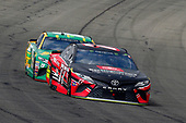 2017 Monster Energy NASCAR Cup Series<br /> Auto Club 400 Auto Club Speedway, Fontana, CA USA<br /> Sunday 26 March 2017<br /> Erik Jones, Toyota Service Centers Toyota Camry and Daniel Suarez, Subway Toyota Camry<br /> World Copyright: Russell LaBounty/LAT Images<br /> ref: Digital Image 17FON1rl_6289