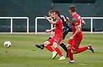 11.01.2020 Rangers v Lokomotiv Tashkent, Sevens Stadium, Dubai:<br /> Greg Stewart rounds off the scoring by stroking in goal no 6 for Rangers