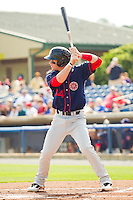 Bryce Harper #34 of the Hagerstown Suns at bat against the Rome Braves at State Mutual Stadium on May 2, 2011 in Rome, Georgia.   Photo by Brian Westerholt / Four Seam Images