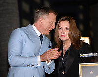 LOS ANGELES, CA. October 06, 2021: Daniel Craig & Barbara Broccoli on Hollywood Boulevard where he was honored with a star on the Hollywood Walk of Fame. <br /> Picture: Paul Smith/Featureflash