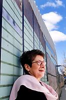 Lise Bissonnette photographiÈ pour le magazine Forces<br /> par Christian Fleury <br /> avril 2004