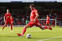Theo Archibald of Leyton Orient goes close during Leyton Orient vs Oldham Athletic, Sky Bet EFL League 2 Football at The Breyer Group Stadium on 11th September 2021