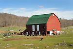 Red barn, Augusta County, VA.