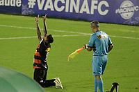 Campinas (SP), 01/03/2021 - Guarani - Ituano - Bruno Lopes comemora gol do Ituano. Partida entre Guarani e Ituano válida pelo Campeonato Paulista 2021, nesta segunda-feira (1) no estádio Brinco de Ouro em Campinas, interior de São Paulo.