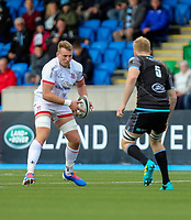 Saturday 14th September 2019 | Glasgow vs Ulster  <br /> <br /> Kieran Treadwell during the second pre-season friendly between Ulster and Glasgow at Scotstoun Stadium, Glasgow, Scotland. Photo by John Dickson / DICKSONDIGITAL