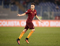 Calcio, Serie A: Roma vs ChievoVerona. Roma, stadio Olimpico, 22 settembre 2016.<br /> Roma's Stephan El Shaarawy celebrates after scoring on a free kick during the Italian Serie A football match between Roma and Chievo Verona, at Rome's Olympic stadium, 22 December 2016.<br /> UPDATE IMAGES PRESS/Isabella Bonotto