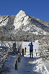 Woman taking picture at Chautauqua Park, Boulder. .  John leads private photo tours in Boulder and throughout Colorado. Year-round. .  John leads private photo tours in Boulder and throughout Colorado. Year-round Boulder photo tours.