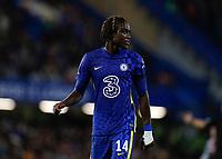 22nd September 2021; Stamford Bridge, Chelsea, London, England; EFL Cup football, Chelsea versus Aston Villa; Trevoh Chalobah of Chelsea
