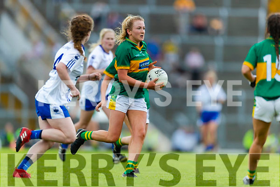 Deirdre Kearney Kerry in action against  Waterford in the TG4 Munster Senior Ladies Football Championship semi-final match between Kerry and Waterford at Fitzgerald Stadium in Killarney on Sunday.