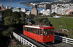 Cable Car. Wellington scenes. Photo: Marc Weakley