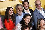 Ana Fernandez, Carlos Iglesias, Santiago Requejo and Roberto Alvarez attend Abuelos premiere on October 09, 2019 in Madrid, Spain.(ALTERPHOTOS/ItahisaHernandez)