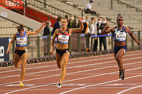 5th September 2020, Brussels, Netherlands;  Belgiums Rani Rosius C competes during the 100m Women at the Diamond League Memorial Van Damme athletics event at the King Baudouin stadium in Brussels, Belgium