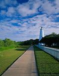 Cape Hatteras National Seashore, NC<br /> Ocracoke Island Lighthouse (1823) located on Ocracoke Island