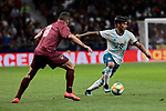 Argentina's Blanco and Venezuela's Tomas Eduardo Rincon during International Adidas Cup match between Argentina and Venezuela at Wanda Metropolitano Stadium in Madrid, Spain. March 22, 2019. (ALTERPHOTOS/A. Perez Meca)