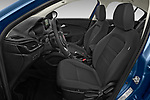 Front seat view of 2021 Fiat Tipo Life 5 Door Hatchback Front Seat  car photos