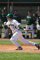 February 26, 2010:  Brandon Eckerle of the Michigan State Spartans during the Big East/Big 10 Challenge at Raymond Naimoli Complex in St. Petersburg, FL.  Photo By Mike Janes/Four Seam Images