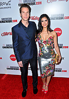 LOS ANGELES, USA. November 09, 2019: Ted McGrath & Ana McGrath at the American Cinematheque Award Gala honoring Charlize Theron at the Beverly Hilton.<br /> Picture: Paul Smith/Featureflash