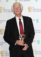 File photo of Roger Deakins who has been awarded a Knighthood in the New Year's Honours List.<br /> BAFTA British Academy Film Awards - Winners Room - at the Royal Albert Hall, Kensington, London on February 2nd 2020<br /> <br /> Photo by Keith Mayhew