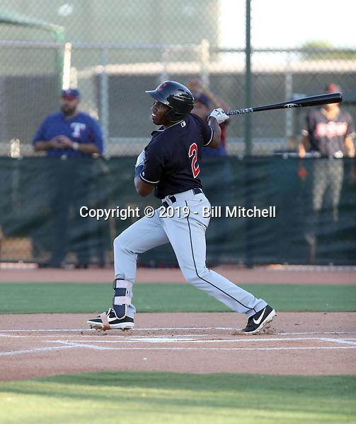Victor Nova - 2019 AZL Indians (Bill Mitchell)