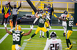 Green Bay Packers against the Atlanta Falcons during a regular season game at Lambeau Field in Green Bay on Monday, October 5, 2020.