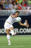 USA (7) Shannon Boxx. The United States Women's National Team defeated Mexico 5-1 in an international friendly at the Edward Jones Dome in St Louis, MO on October 13, 2007.