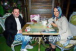 Enjoying the evening in Molly J's on Friday, l to r: Mikey Kenneally and Danielle  O'Flaherty (Tralee).