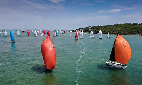 One hundred and twenty five boats started the 230 nautical-mile RORC Myth of Malham Race