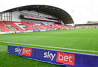 A general view of Highbury Stadium, home of Fleetwood Town<br /> <br /> Photographer Chris Vaughan/CameraSport<br /> <br /> The EFL Sky Bet League One - Fleetwood Town v Lincoln City - Saturday 17th October 2020 - Highbury Stadium - Fleetwood<br /> <br /> World Copyright © 2020 CameraSport. All rights reserved. 43 Linden Ave. Countesthorpe. Leicester. England. LE8 5PG - Tel: +44 (0) 116 277 4147 - admin@camerasport.com - www.camerasport.com