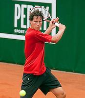 12-8-09, Den Bosch,Nationale Tennis Kampioenschappen, 1e ronde,  Jasper Smit