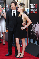 HOLLYWOOD, LOS ANGELES, CA, USA - JUNE 17: Actors Stephen Moyer and Anna Paquin arrive at the Los Angeles Premiere Of HBO's 'True Blood' Season 7 held at the TCL Chinese Theatre on June 17, 2014 in Hollywood, Los Angeles, California, United States. (Photo by Xavier Collin/Celebrity Monitor)