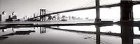 Brooklyn bridge reflection<br />