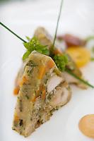 "Europe/France/Rhône-Alpes/69/Rhône/Tarare: Pressé de lapin  recette de Jean Brouilly   Chef du Restaurant ""Jean Brouilly"""