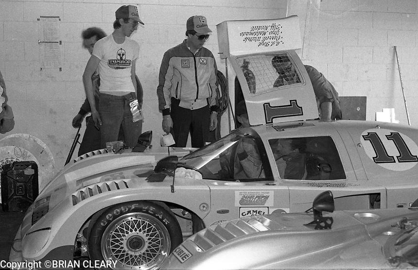 NASCAR start Darrell Waltrip prepares for the 1983 24 Hours of Daytona , Daytona Internationa Speedway, Daytona Beach, FL, February 1-2, 1983.  (Photo by Brian Cleary / www.bcpix.com)
