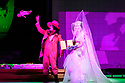 """EMBARGOED UNTIL 23:00 FRIDAY 18 OCTOBER 2019: English National Opera presents """"The Mask of Orpheus"""", by Sir Harrison Birthwhistle, libretto by Peter Zinovieff, at the London Coliseum, in its first London restaging in the 30 years since its premiere, coinciding with the celebration of Sir Harrison's 85th birthday. Directed by Daniel Kramer, with lighting design by Peter Mumford, set design by Lizzie Clachan and costume design by Daniel Lismore. Picture shows: Marta Fontanals-Simmons (Eurydice the Woman)."""