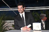 SHAHAB HOSSEINI, WINNER OF THE BEST ACTOR AWARD FOR THE FILM 'THE SALESMAN' - PHOTOCALL OF THE WINNERS AT THE 69TH FESTIVAL OF CANNES 2016