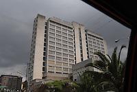 Addis Abeba, il palazzo della televisione etiopa, the Ethiopin Television buildig