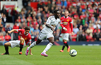 Pictured: Nathan Dyer of Swansea. Saturday 16 August 2014<br />