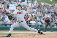 June 19, 2007:  Clayton Kershaw of the Great Lakes Loons at Effstrom Stadium in Geneva, IL for the 2007 MWL All Star game.  Photo by:  Chris Proctor/Four Seam Images
