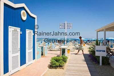 Italien, Emilia-Romagna, Cattolica: beliebter Badeort an der Adria, suedlich von Rimini | Italy, Emilia-Romagna, Cattolica: popular beach resort located on the Adriatic Sea, south of Rimini