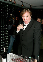 French cinema legend Gerard Depardieu present his wines November 22 2005 in Montreal, CANADA<br /> <br /> Photos : (c) 2005 Pierre Roussel
