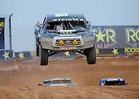 Mar. 20, 2011; Chandler, AZ, USA;  LOORRS pro four driver Rick Huseman during round two at Firebird International Raceway. Mandatory Credit: Mark J. Rebilas-