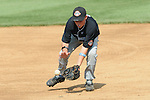 Aberdeen, MD: Drew Paulsen of Tampa moves into catch a ground ball during Thursday afternoon's Tampa v Willamette Valley game at the 2009 Cal Ripken World Series