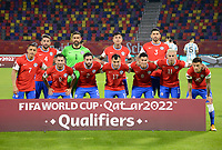 3rd June 2021; Estadio Único de Santiago del Estero, Santiago del Estero, Argentina; World Cup football qualification, Argentina versus Chile;  Players of Chile pose for their official photo