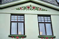 N - NORWAY - ALESUND<br /> Art Nouveau ornamentation on buildings in old town centre<br /> <br /> Full size: 64,9 MB
