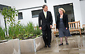 20/08/2010   Copyright  Pic : James Stewart.001_mental_health_unit  .::  NHS FORTH VALLEY ROYAL HOSPITAL :: NHS TRUST CHAIRMAN IAN MULLEN AND GENERAL MANAGER KATHY O'NEILL TAKE A WALK THROUGH ONE OF THE MANY GARDENS FOR PATIENTS AT THE NEW MENTAL HEALTH UNIT ::