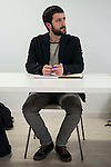 Juanma del Olmo during PODEMOS meeting with autonomy general and organizational secretaries sat Real Palace in Madrid March 17,2016. (ALTERPHOTOS/Borja B.Hojas)
